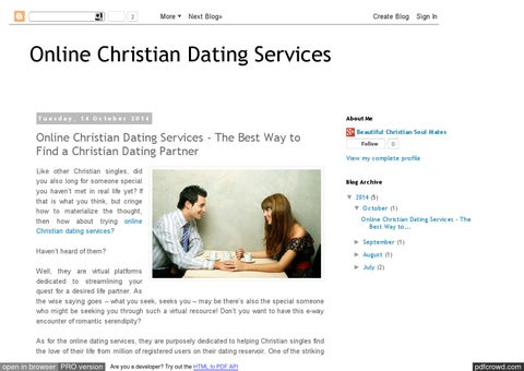 Christian Soulmates dating