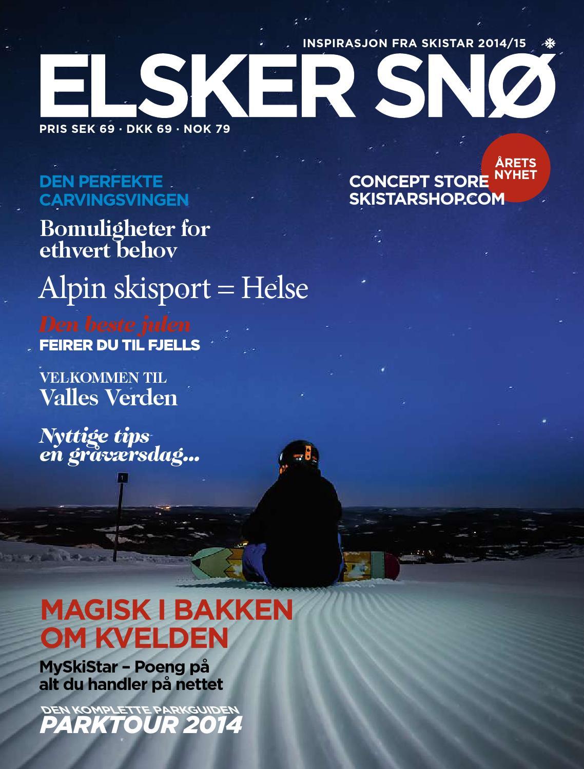 36c52265 Skistar Elsker snø 14/15 by SkiStar - issuu