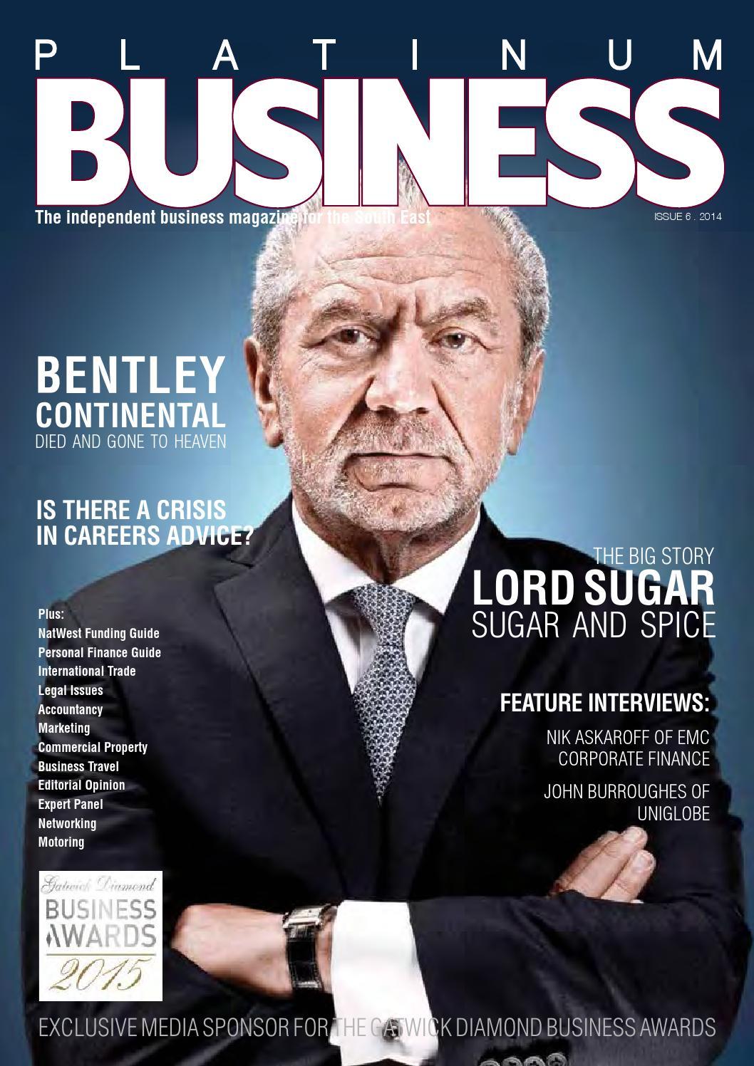 Platinum Business Magazine Issue 6 By Platinum Business