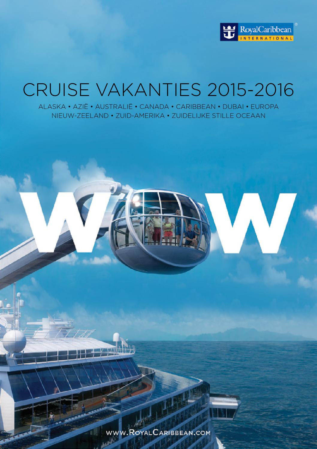 Royal Caribbean International  Brochure 20152016 by AMCA