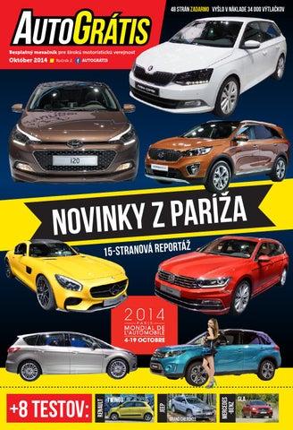 463e603cc AUTOGRÁTIS, Október 2014 by AUTOGRÁTIS magazín - issuu
