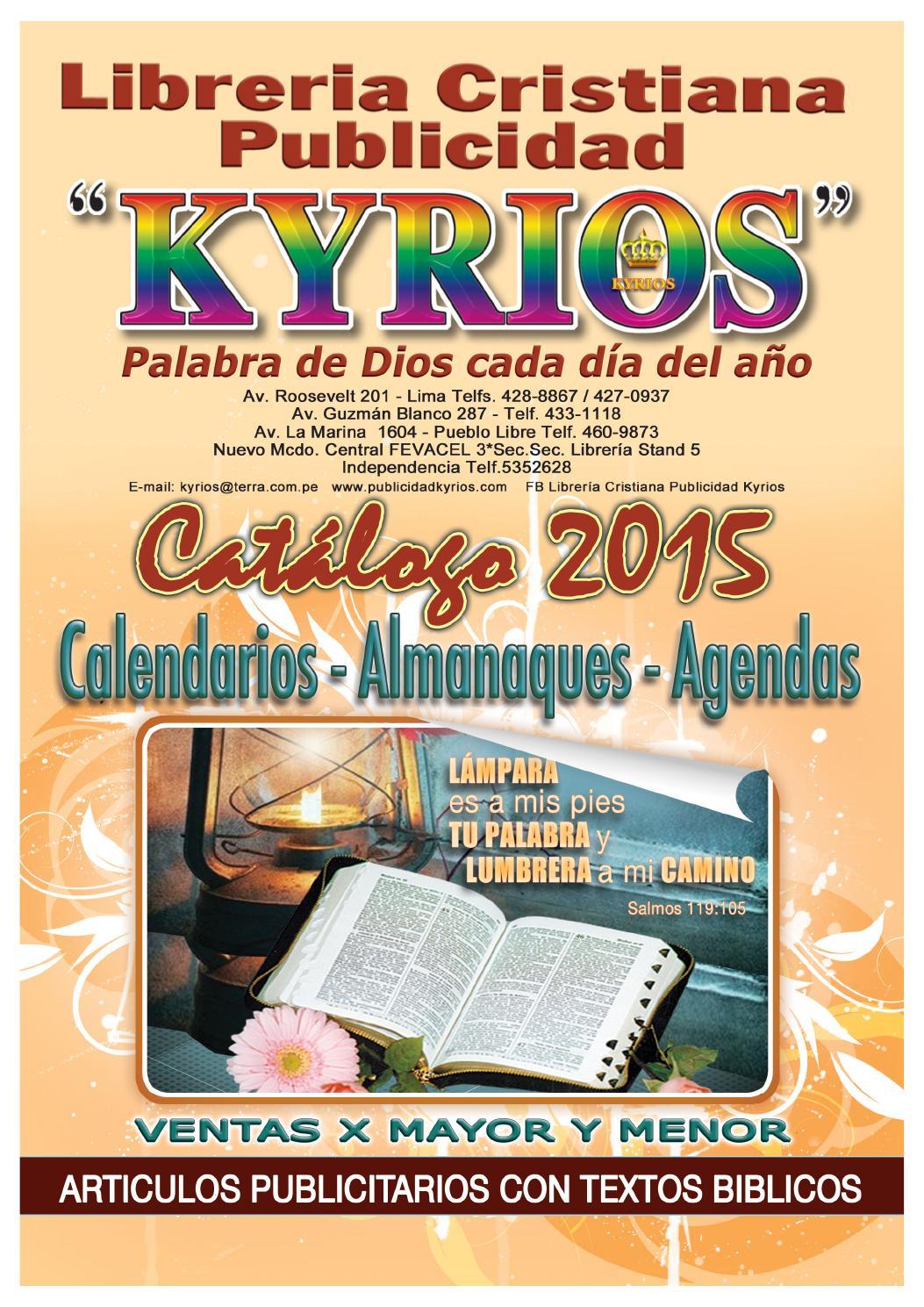 Catalogo 2015 by libreria cristiana publicidad kyrios issuu - Librerias cristiana ...