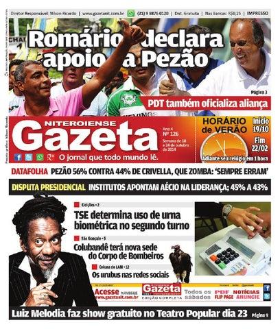 GAZETA NITEROIENSE • EDIÇÃO 126 by Gazeta Niteroiense - issuu 2a06e447cf