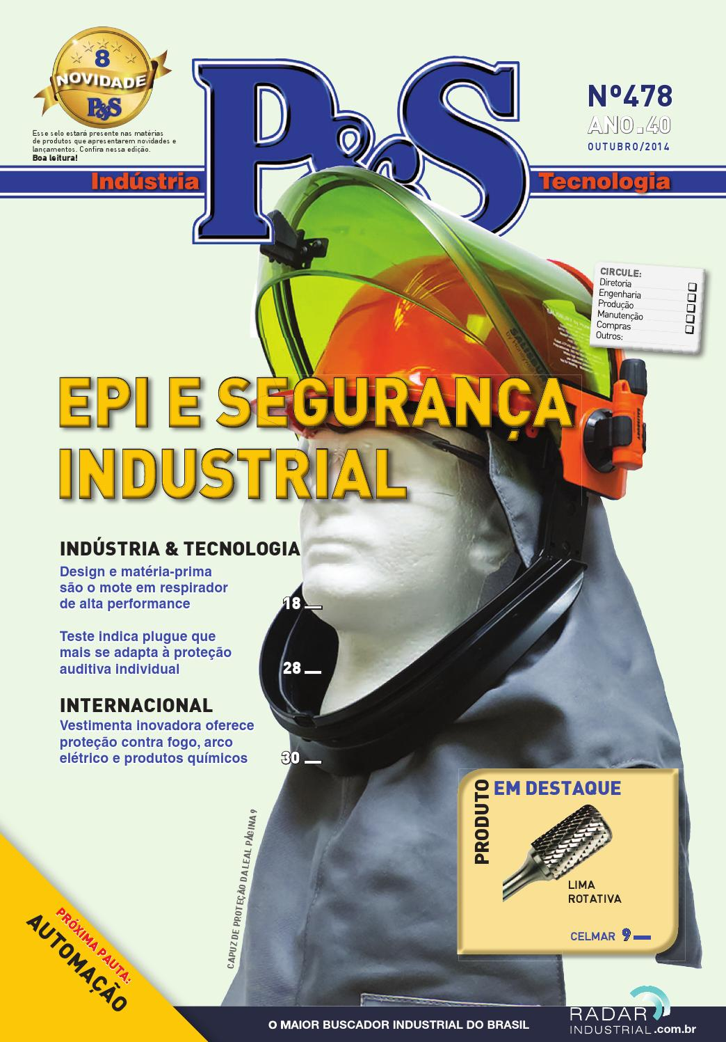 9699d7c59ebda Revista Indústria   Tecnologia  P S 478 - Outubro 2014 by Editora Banas -  issuu
