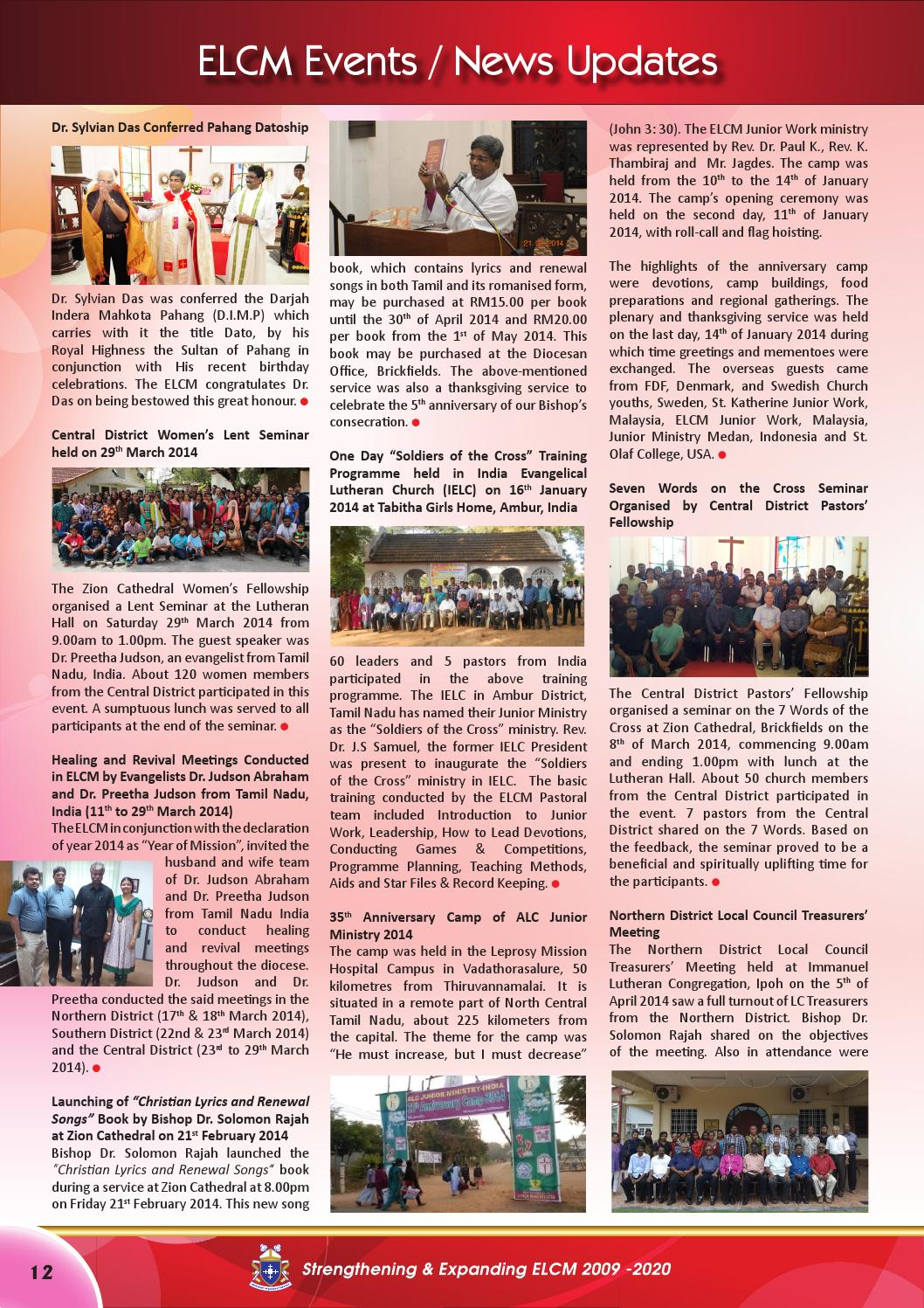 Lutheran Herald April 2014_15th Edition by Evangelical