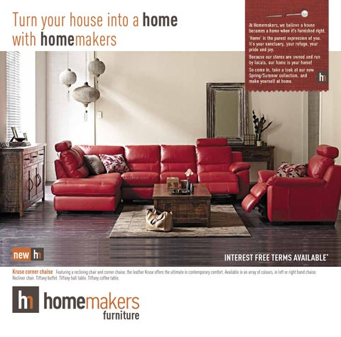 Homemakers Furniture Western Australia Wa Catalogue By Homemakers
