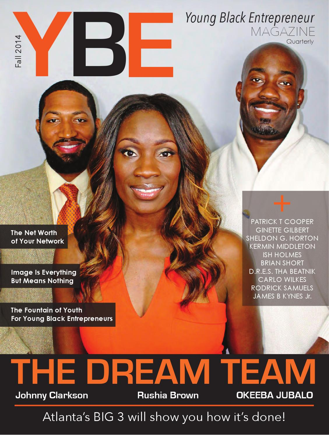 young black entrepreneur magazine by noblesol art group