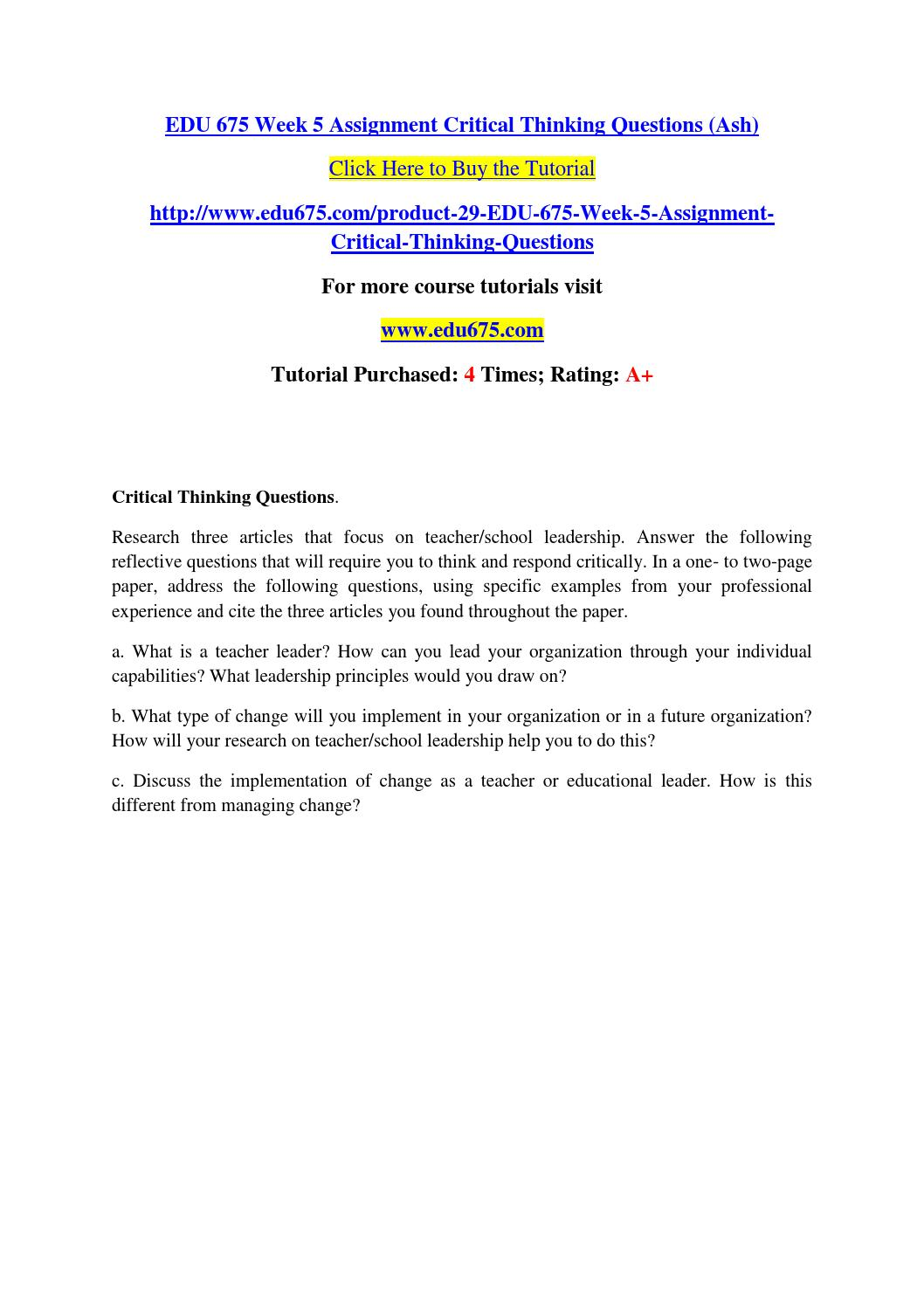 review scientific article critical appraisal