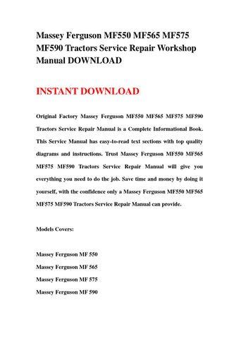 manual tractor massey ferguson 575 download