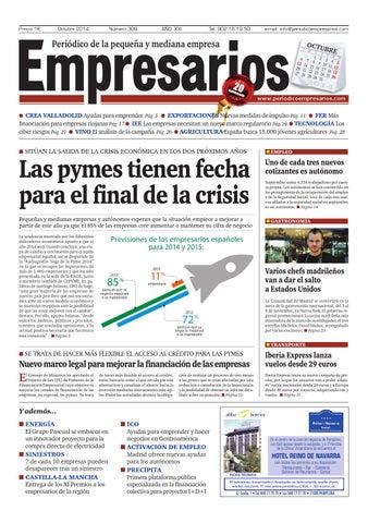 Empresarios Octubre 2014 By Periodico Empresarios Issuu