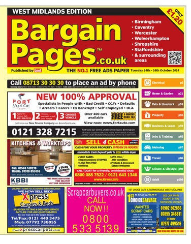 751540e0f9 Bargain Pages Midlands, 14th October 2014 by Loot - issuu