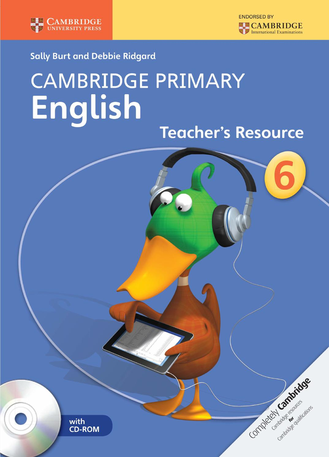 Preview Cambridge Primary English Teacher's Resource Book 6 by Cambridge  University Press Education - issuu