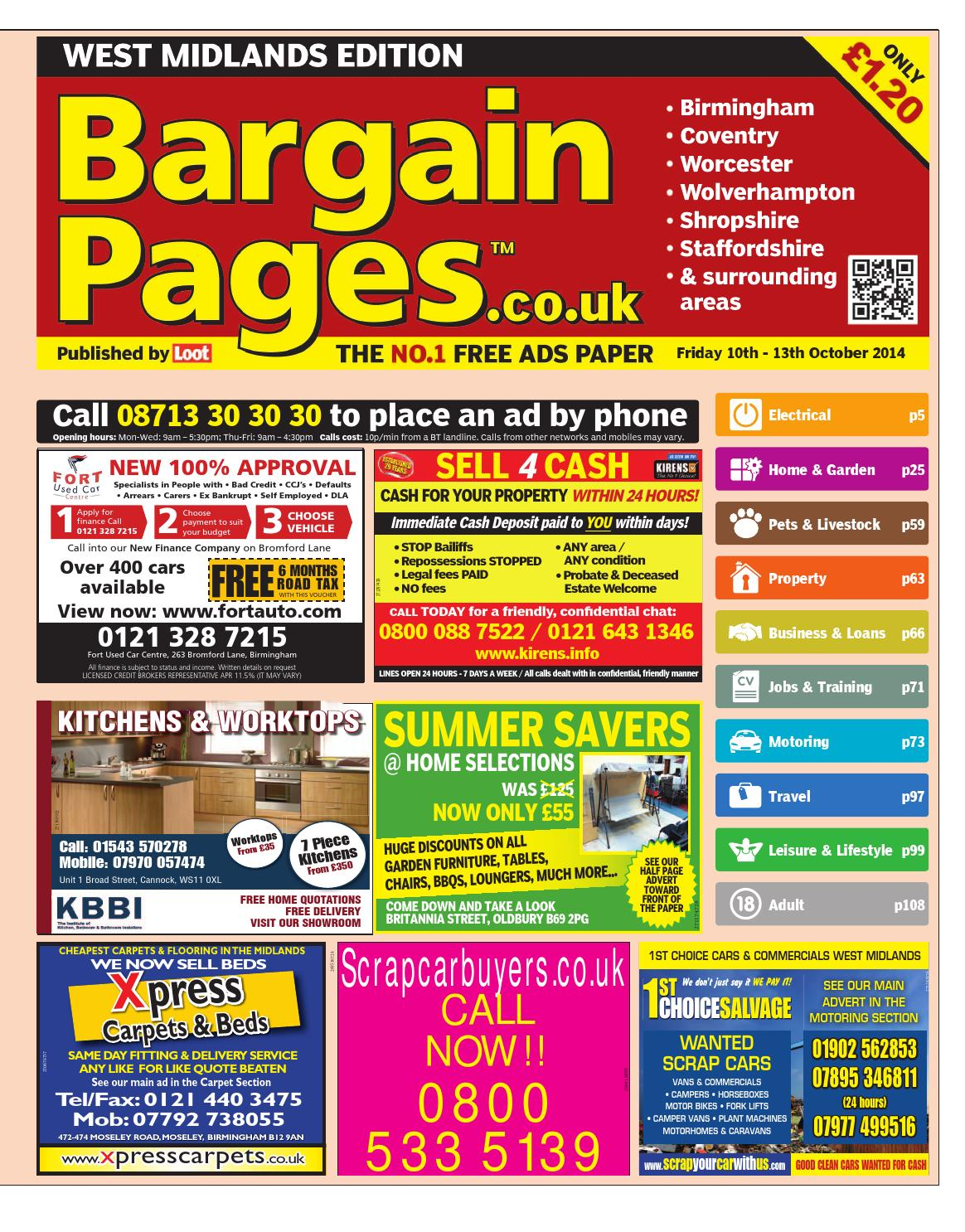 0ee5bc2dbae3 Bargain Pages Birmingham, October 10th 2014 by Loot - issuu