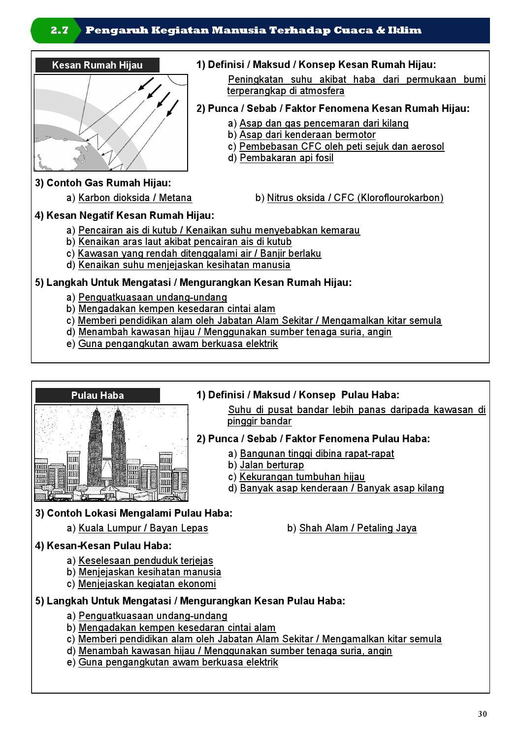 Sample Nota Geografi Spm By Buku