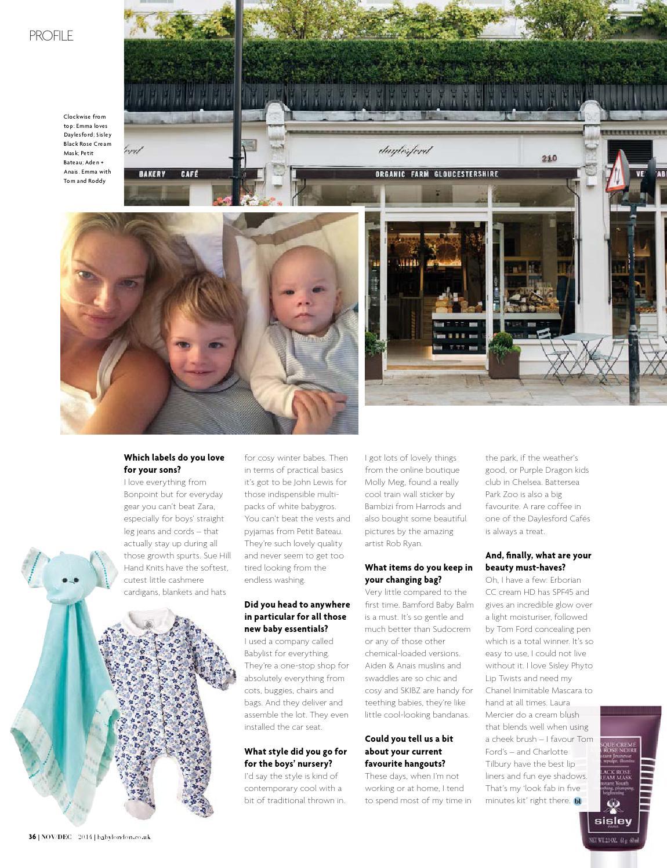 Baby London Nov/Dec 2014 by The Chelsea Magazine Company - issuu