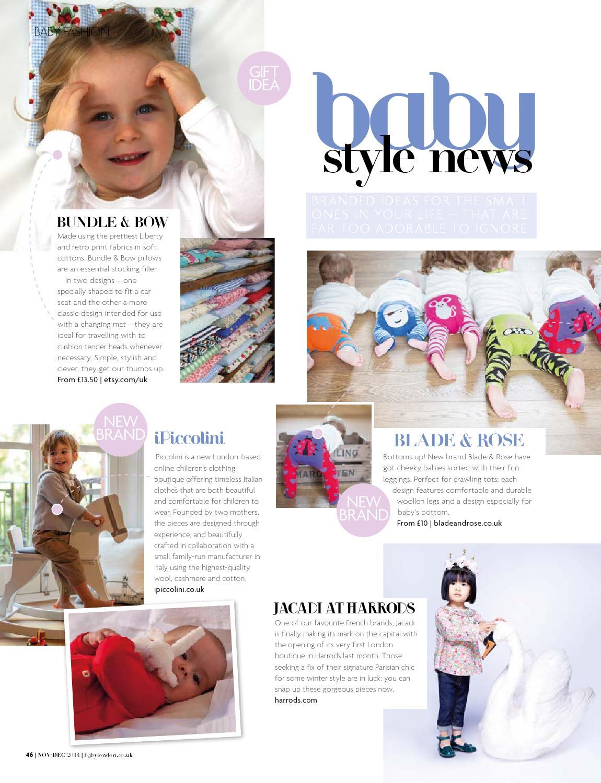 e6f427cb235 Baby London Nov Dec 2014 by The Chelsea Magazine Company - issuu