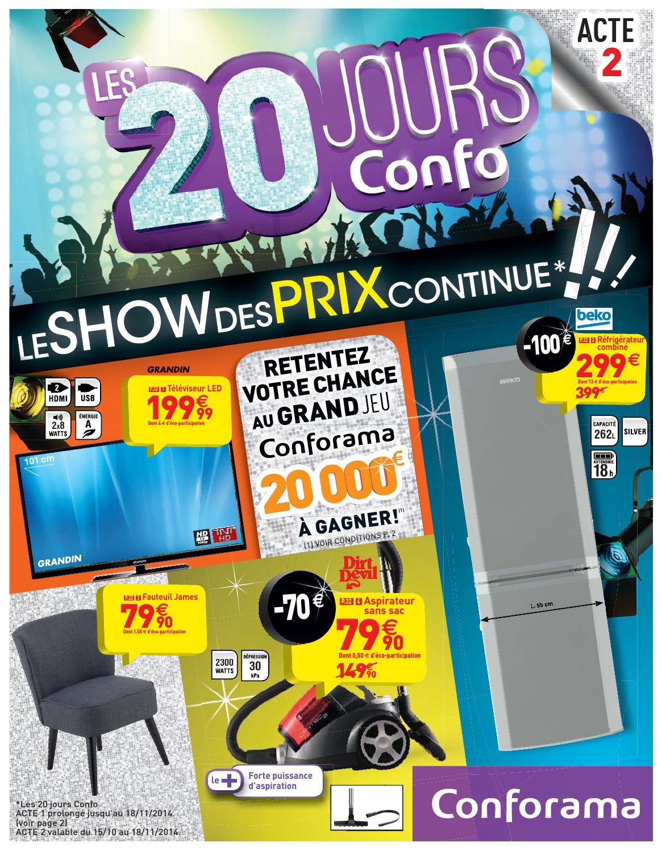 Conforama Catalogue 15octobre 18novembre2014 By Promocatalogues Com
