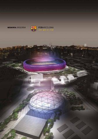 buy popular eac7c d6fe3 Memoria FC Barcelona 2013  14 Castellano by FC Barcelona - issuu