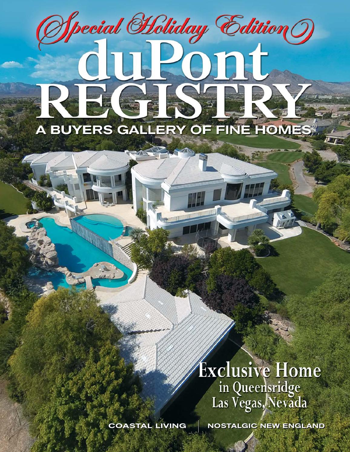 duPontREGISTRY Homes December 2014 by duPont REGISTRY issuu
