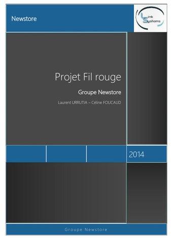 Projet fil rouge celine-foucaud laurent-urrutia by Laurent