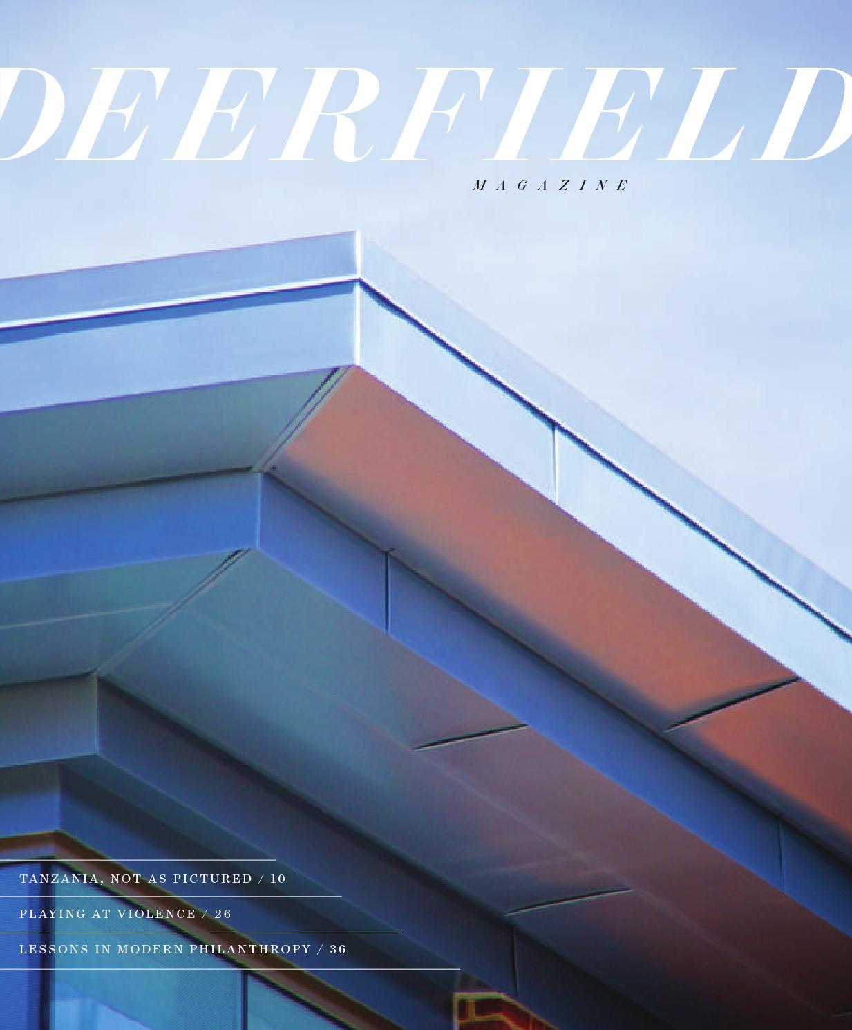 Fall 2014 Deerfield Magazine by Deerfield Academy - issuu