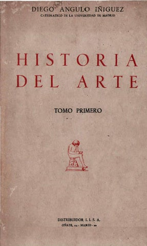 Historia del Arte. TOMO PRIMERO by Historia y Arqueología - issuu a2fc00b2ec6
