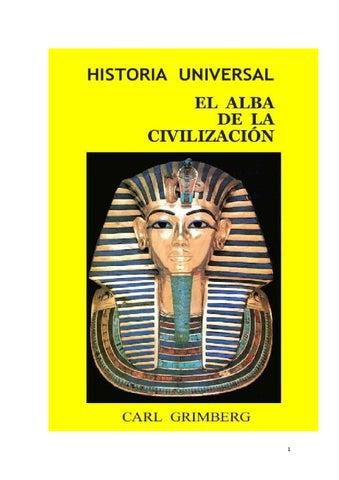 ec0aec773c9bf Historia Universal  El Alba de la Civilización by Historia y ...