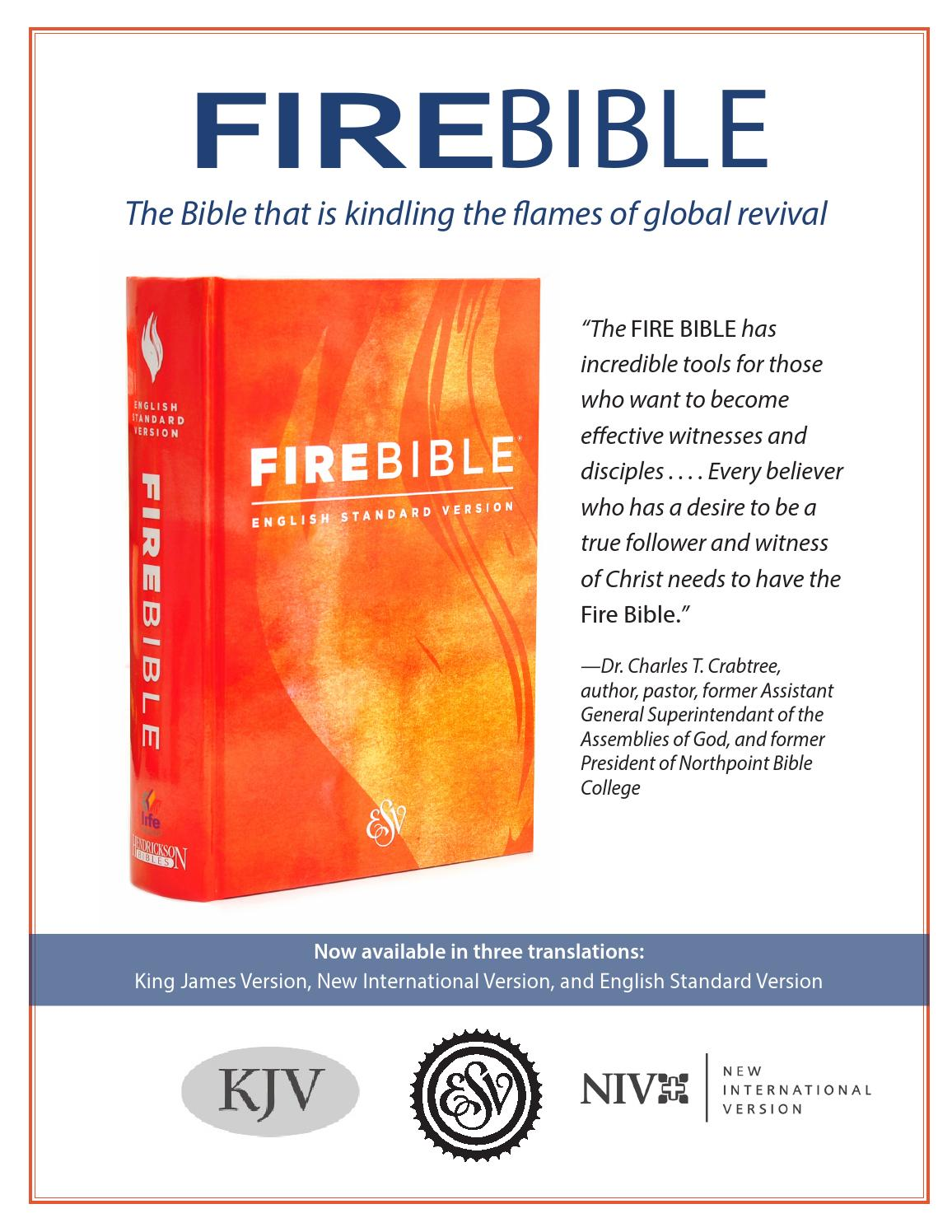 Fire Bible Flyer 2014 by Hendrickson Publishers - issuu