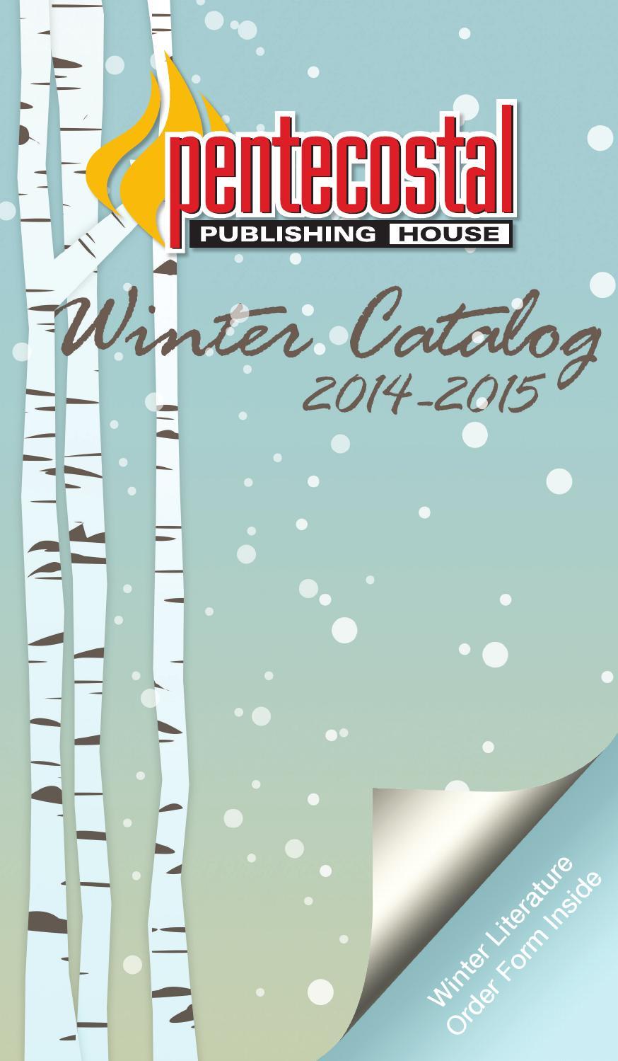Pentecostal Publishing House Winter 14-15 Catalog by Pentecostal Life -  issuu