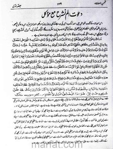 Shamsul Maarif Urdu Pdf