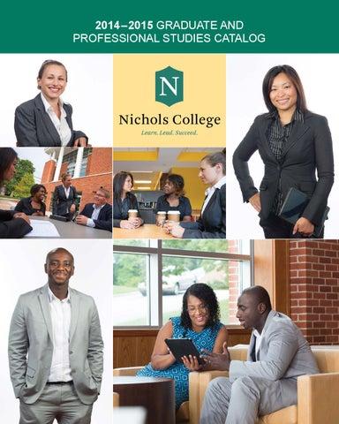 2014 –2015 GRADUATE AND PROFESSIONAL STUDIES CATALOG