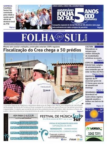 d13cfc6580 SURPRESA Candidato Sartori faz caminhada pela cidade e recebe apoio oficial  do diretório local do PTB
