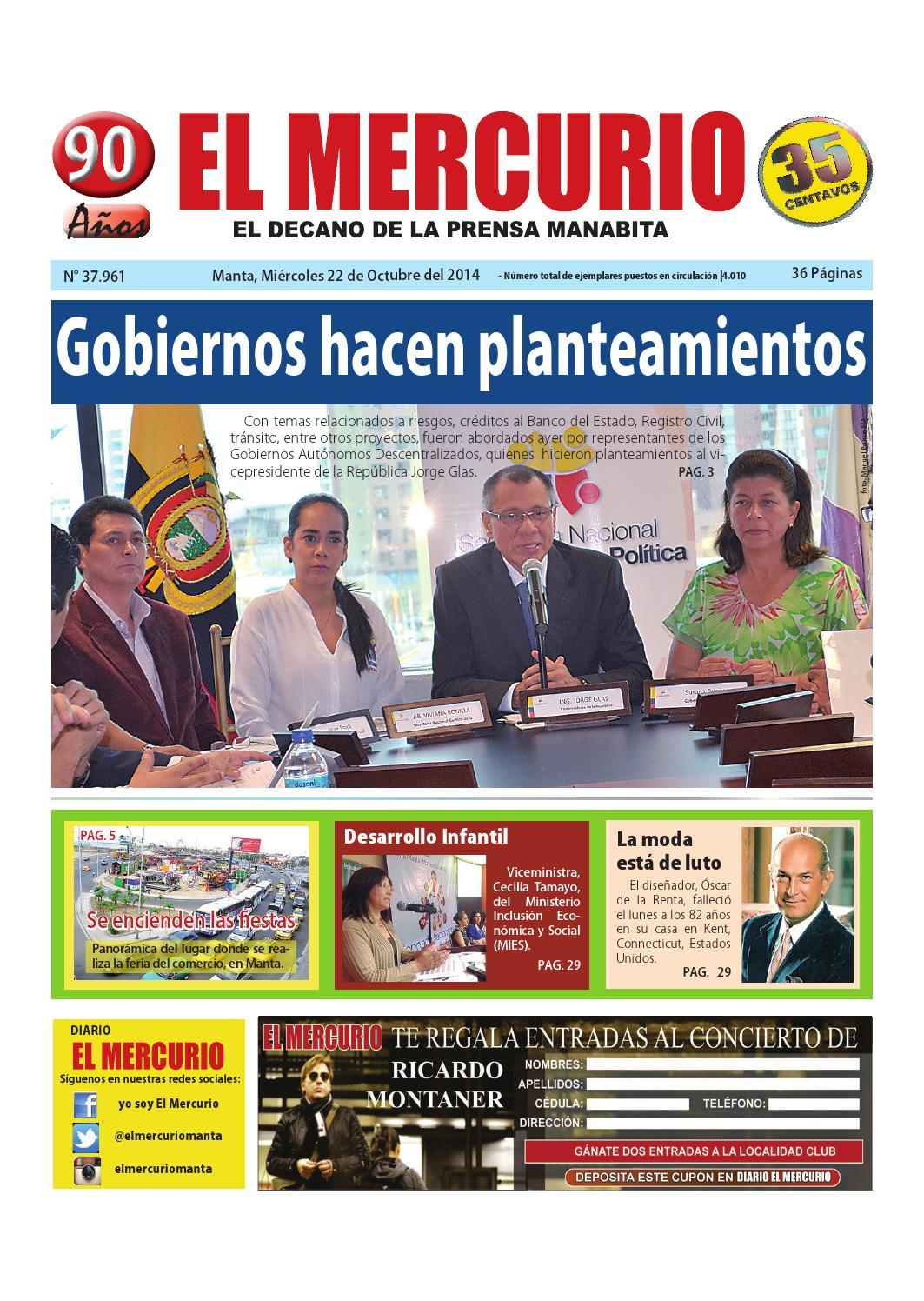Mercurio miercoles 22 de octubre 2014 by Diario El mercurio - issuu d1aa6e0a06e