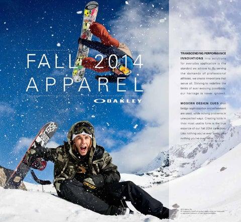 beb0fadd7d Oakley fa14 apparel low by zuzupopo.snow - issuu