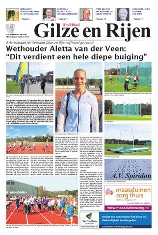 0facf579ff9992 Weekblad Gilze en Rijen 22-10-2014 by Uitgeverij Em de Jong - issuu