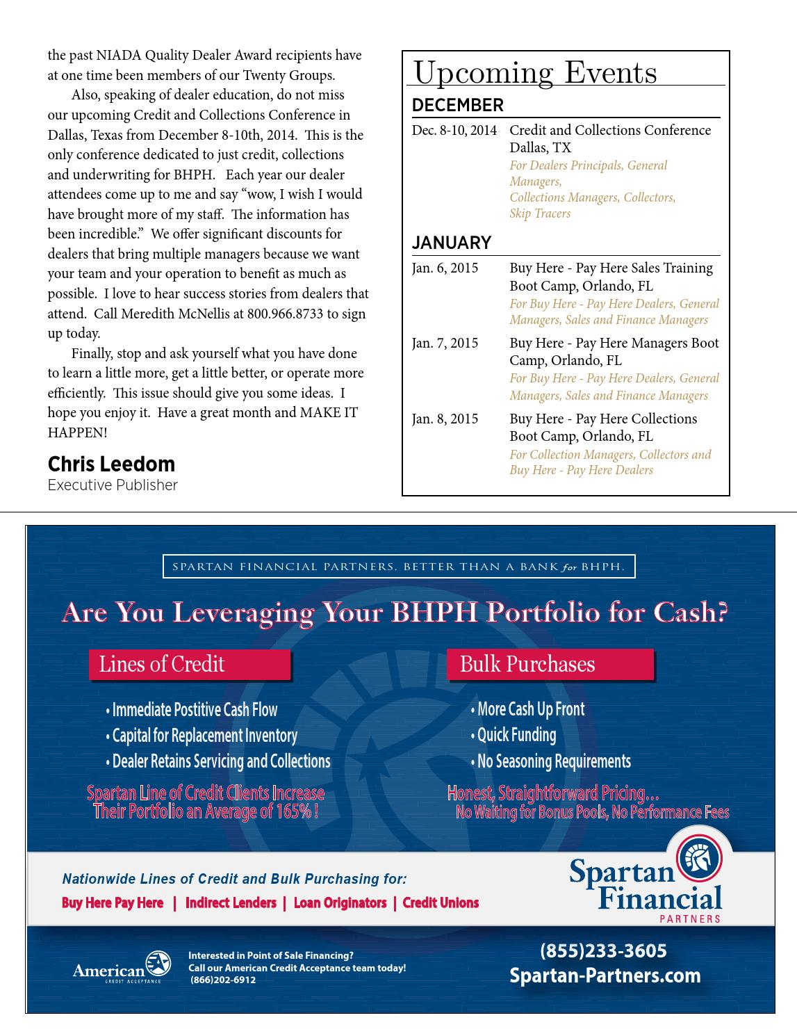 Buy Here Pay Here Orlando >> Dealer Business Journal October 2014 By Dealer Business