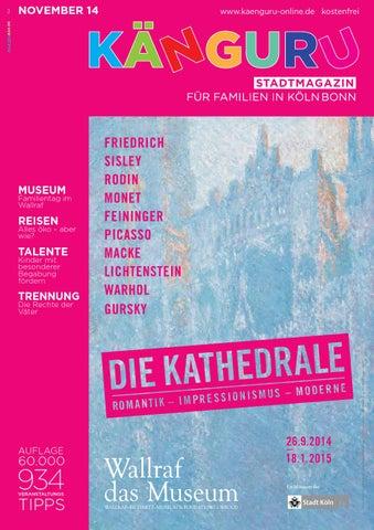 Känguru Stadtmagazin Für Familien In Kölnbonn November 2014 By