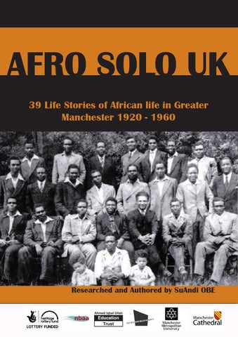 Afro solo uk by suandi issuu afro solo uk 39 life stories of african life in greater manchester 1920 1960 fandeluxe Images