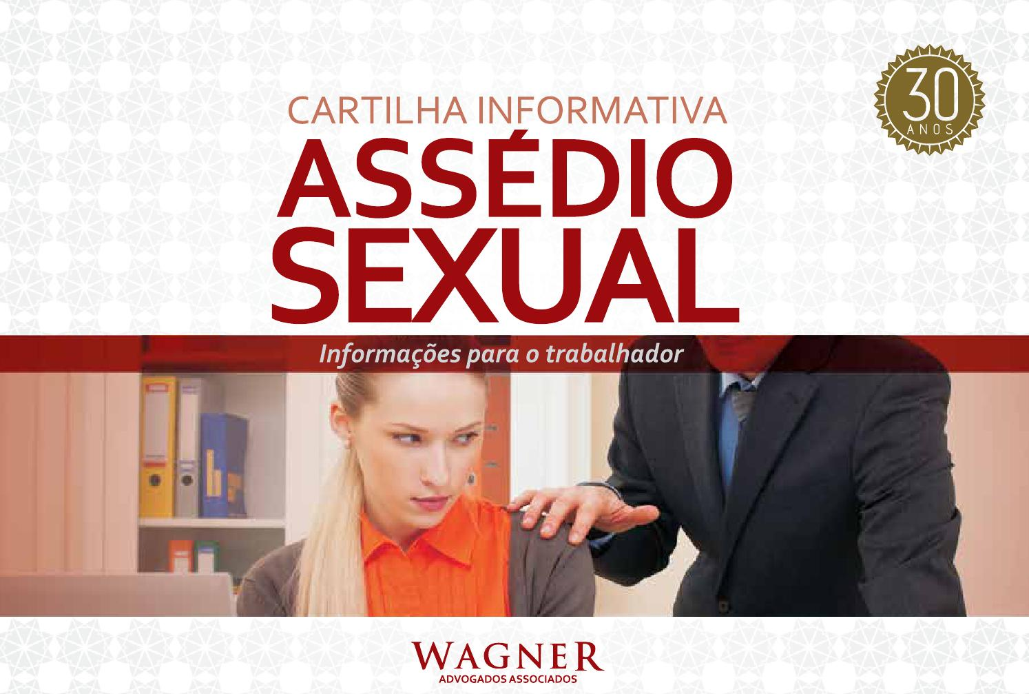 Cartilha Assédio Sexual by Comunicacao - issuu f201a7ef1a