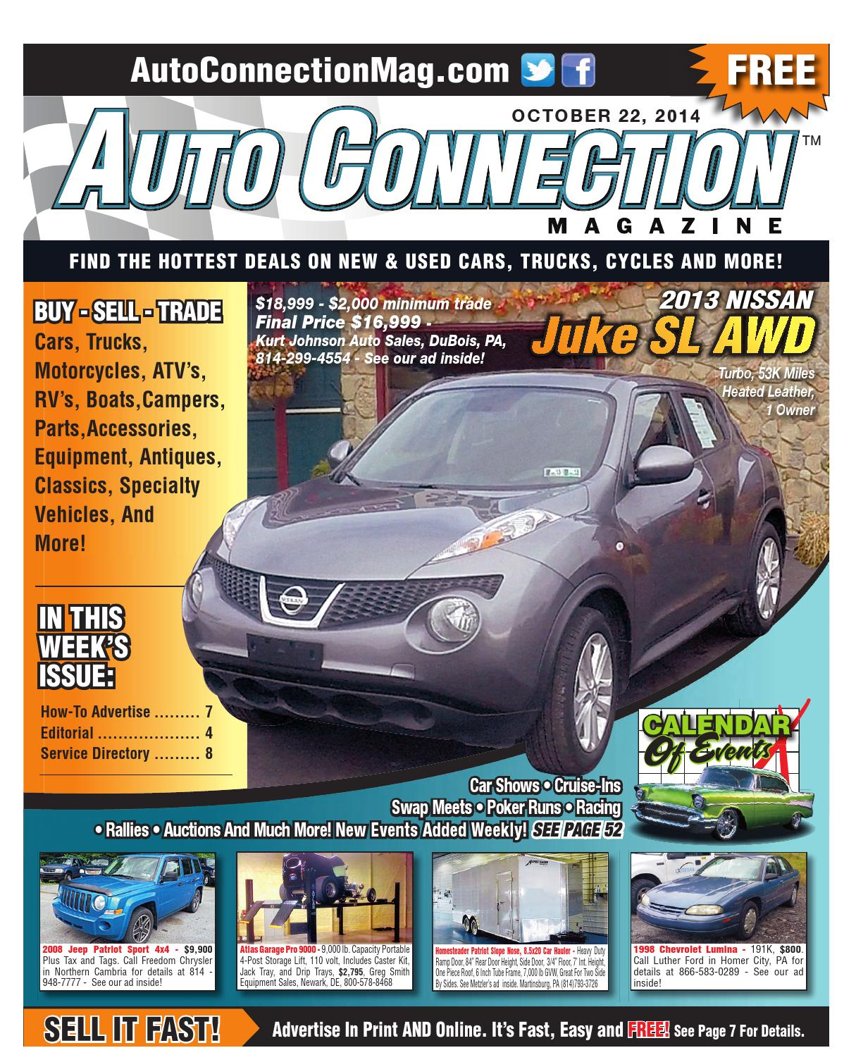 10-22-14 Auto Connection Magazine by Auto Connection Magazine - issuu