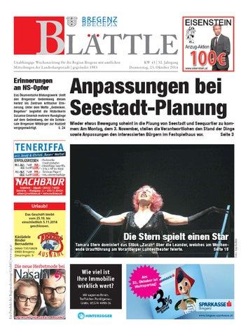 Unabhängige wochenzeitung für die region bregenz mit amtlichen mitteilungen der landeshauptstadt gegründet 1983