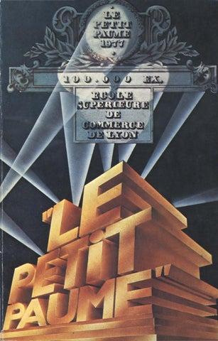 Le Petit Paume Edition 1977 City Guide De Lyon By Le