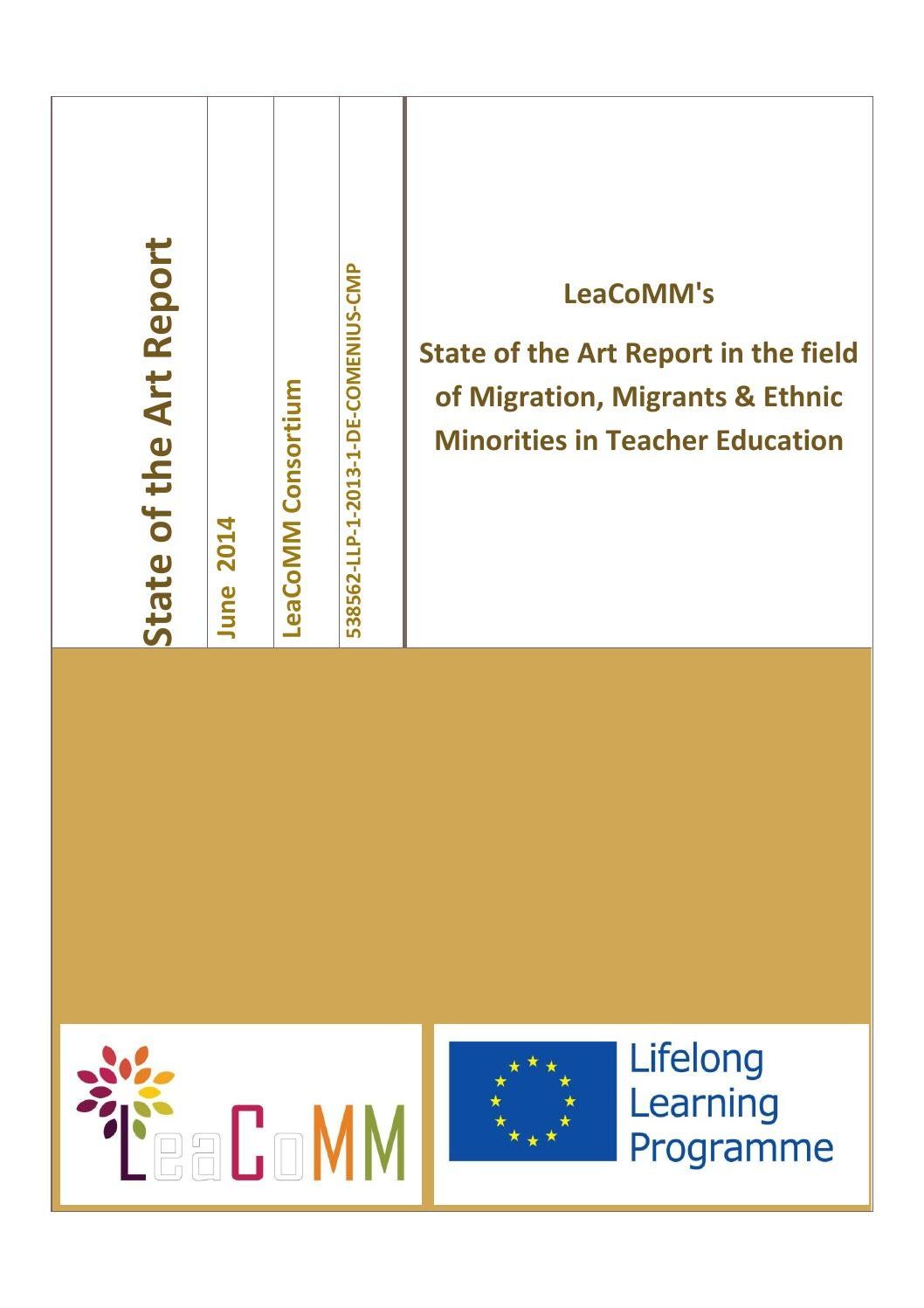 LeaCoMM\'s State of the Art Report in the field of Migration ...