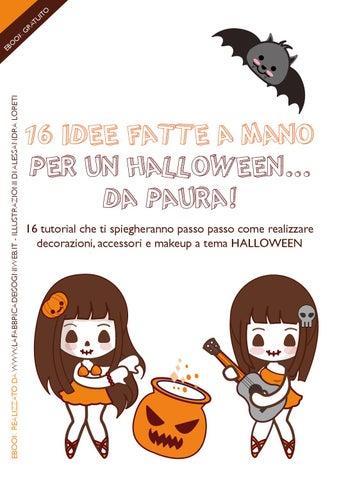 16 idee fatte a mano per un Halloween... Da paura! by La Fabbrica ... 6733e3775bed
