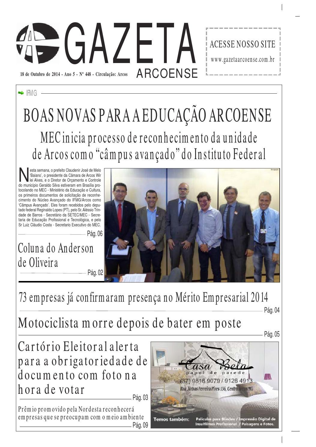 Gazeta 448 by ricardo - issuu 8c7772503c54c