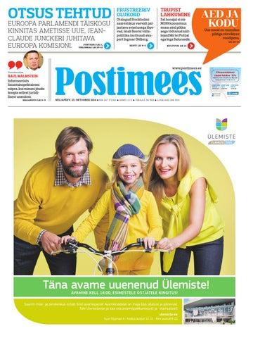 b990ae3b709 Postimehe paberleht 23 10 2014 by Postimees - issuu