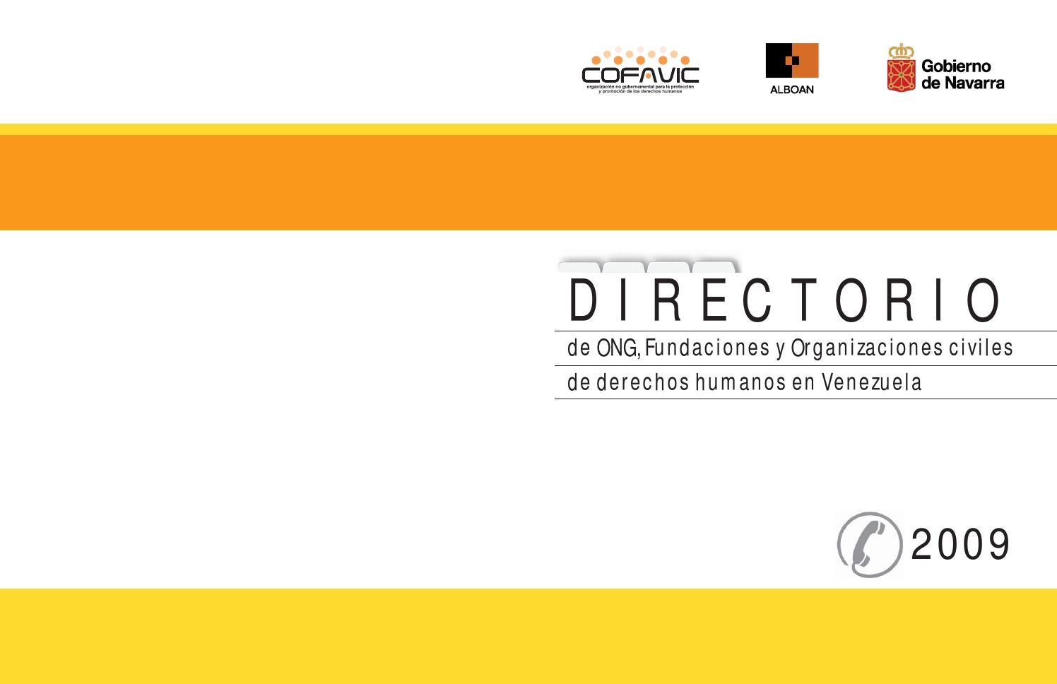 directorio de ong by cofavic issuu