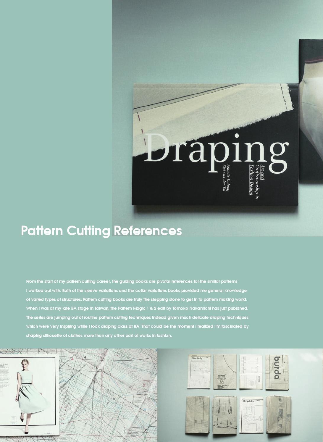 Athena Yuan Pattern Cutting Portfolio By Athena Yuan Issuu