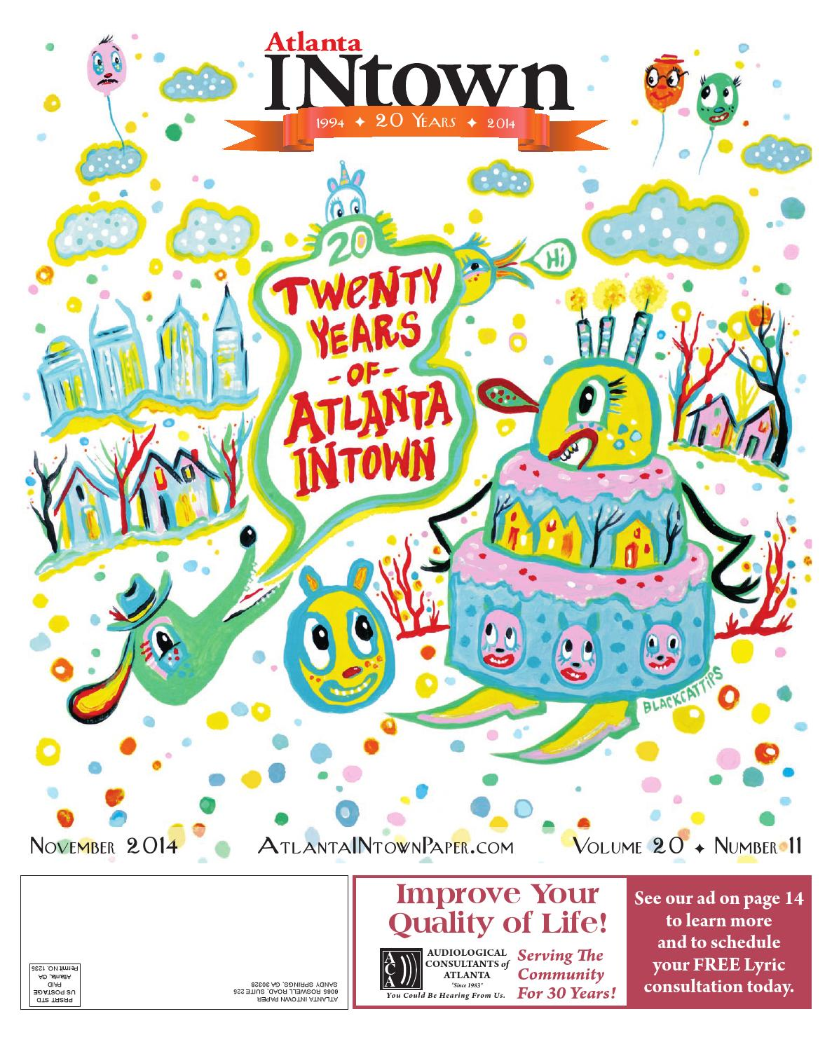 Atlanta intown 20th anniversary edition november 2014 by atlanta atlanta intown 20th anniversary edition november 2014 by atlanta intown issuu fandeluxe Image collections