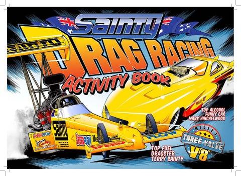 Sainty Drag Racing Activity Book by Mark Hinchelwood - issuu